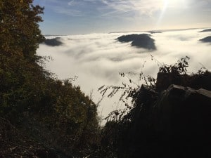 Nebelmeer Saarschleife